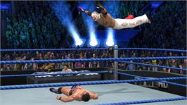 In game image of WWE Smackdown vs. Raw 2011 on the Microsoft Xbox 360.