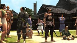 In game image of Way of the Samurai 3 on the Microsoft Xbox 360.