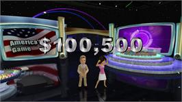 In game image of Wheel of Fortune on the Microsoft Xbox 360.
