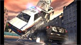 In game image of Wheelman on the Microsoft Xbox 360.