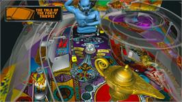 In game image of Williams Pinball Classics on the Microsoft Xbox 360.