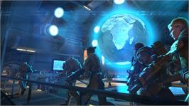 In game image of XCOM®: Enemy Unknown on the Microsoft Xbox 360.