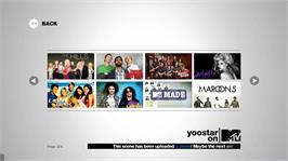 In game image of Yoostar On MTV on the Microsoft Xbox 360.