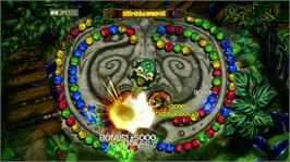In game image of Zuma's Revenge! Collection on the Microsoft Xbox 360.