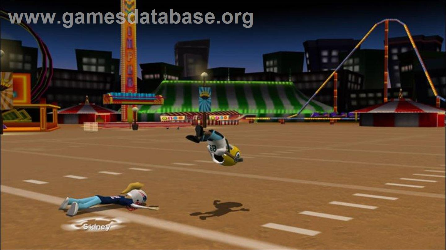 in game image of backyard football 39 10 on the microsoft xbox 360