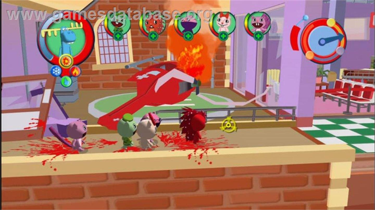 happy tree friends game
