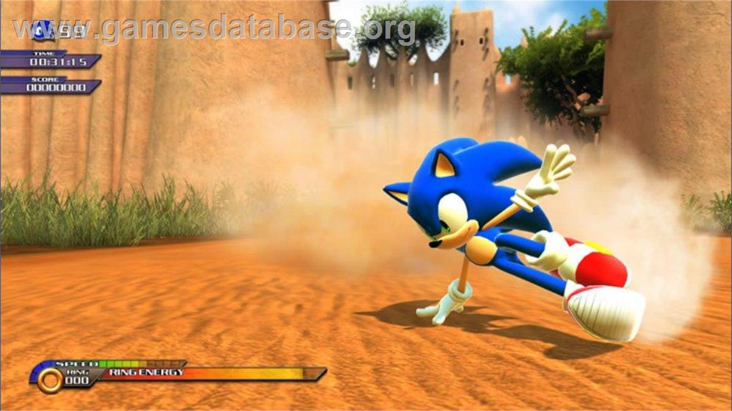 Sonic Unleashed Games