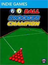 Box cover for 21 Ball Snooker Champion on the Microsoft Xbox Live Arcade.