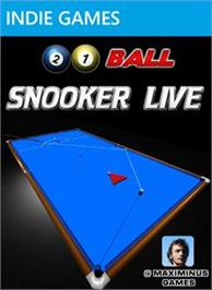 Box cover for 21 Ball Snooker LIVE on the Microsoft Xbox Live Arcade.