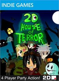 Box cover for 2D House of Terror on the Microsoft Xbox Live Arcade.