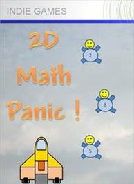 Box cover for 2D Math Panic on the Microsoft Xbox Live Arcade.