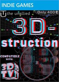 Box cover for 3D-struction on the Microsoft Xbox Live Arcade.