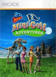 Box cover for 3D Ultra MiniGolf 2 on the Microsoft Xbox Live Arcade.
