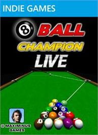 Box cover for 8 Ball Champion LIVE on the Microsoft Xbox Live Arcade.