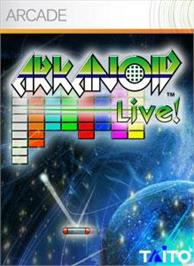 Box cover for ARKANOID Live! on the Microsoft Xbox Live Arcade.