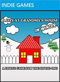 Box cover for A Day at Gma's House in Winter on the Microsoft Xbox Live Arcade.