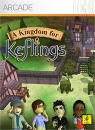 Box cover for A Kingdom for Keflings on the Microsoft Xbox Live Arcade.