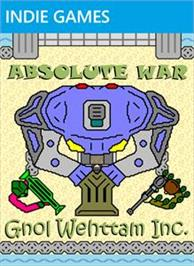 Box cover for Absolute War on the Microsoft Xbox Live Arcade.