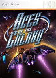 Box cover for Aces of the Galaxy on the Microsoft Xbox Live Arcade.