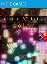 Box cover for Acid Drift: Solar on the Microsoft Xbox Live Arcade.