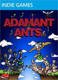 Box cover for Adamant Ants on the Microsoft Xbox Live Arcade.