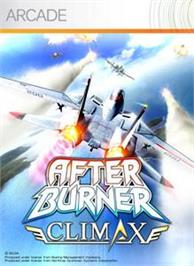 Box cover for After Burner Climax on the Microsoft Xbox Live Arcade.