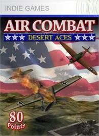 Box cover for Air Combat: Desert Aces on the Microsoft Xbox Live Arcade.