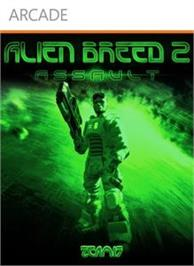 Box cover for Alien Breed 2: Assault on the Microsoft Xbox Live Arcade.