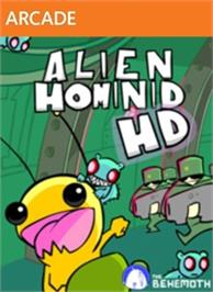 Box cover for Alien Hominid HD on the Microsoft Xbox Live Arcade.