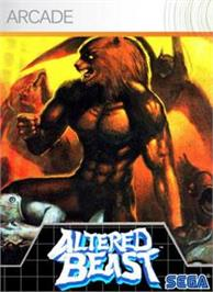 Box cover for Altered Beast on the Microsoft Xbox Live Arcade.