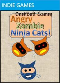 Box cover for Angry Zombie Ninja Cats on the Microsoft Xbox Live Arcade.