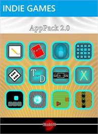 Box cover for AppPack 2.0 on the Microsoft Xbox Live Arcade.