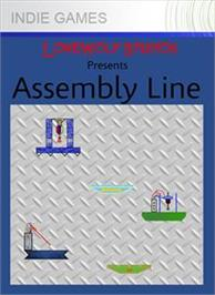 Box cover for Assembly Line on the Microsoft Xbox Live Arcade.