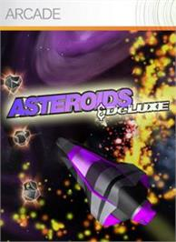 Box cover for Asteroids & Deluxe on the Microsoft Xbox Live Arcade.