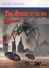 Box cover for Attack of the evil androids on the Microsoft Xbox Live Arcade.