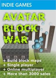 Box cover for Avatar Block War on the Microsoft Xbox Live Arcade.