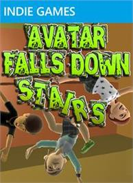 Box cover for Avatar Falls Down Stairs on the Microsoft Xbox Live Arcade.