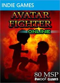 Box cover for Avatar Fighter Online on the Microsoft Xbox Live Arcade.
