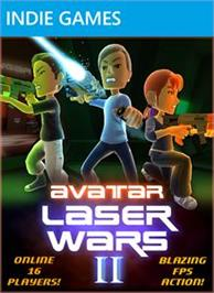 Box cover for Avatar Laser Wars 2 on the Microsoft Xbox Live Arcade.