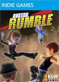 Box cover for Avatar Rumble on the Microsoft Xbox Live Arcade.