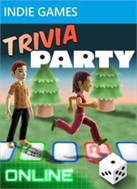 Box cover for Avatar Trivia Party on the Microsoft Xbox Live Arcade.