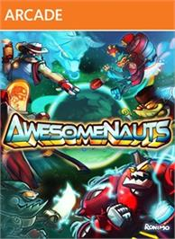 Box cover for Awesomenauts on the Microsoft Xbox Live Arcade.
