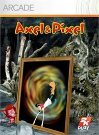 Box cover for Axel & Pixel on the Microsoft Xbox Live Arcade.