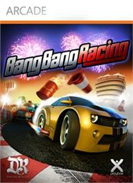 Box cover for Bang Bang Racing on the Microsoft Xbox Live Arcade.