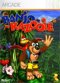 Box cover for Banjo-Kazooie on the Microsoft Xbox Live Arcade.