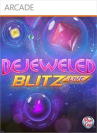 Box cover for Bejeweled Blitz LIVE on the Microsoft Xbox Live Arcade.