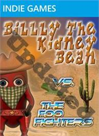 Box cover for Billy The Kidney Bean VTFF on the Microsoft Xbox Live Arcade.