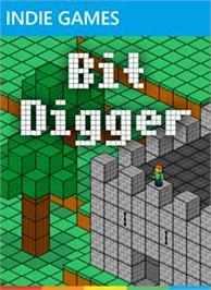 Box cover for Bit Digger on the Microsoft Xbox Live Arcade.