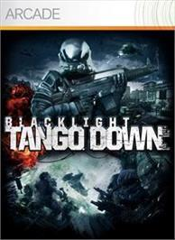 Box cover for Blacklight: Tango Down on the Microsoft Xbox Live Arcade.
