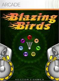 Box cover for Blazing Birds on the Microsoft Xbox Live Arcade.